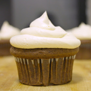 Dark Chocolate Cupcakes with Cream Cheese Frosting