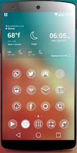 one Theme HD icons Pack Glass v1.9