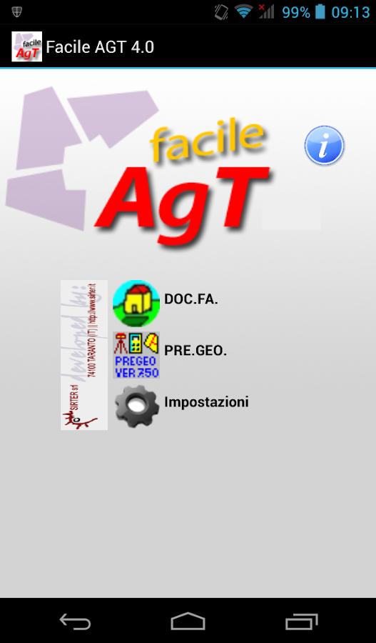 Facile AGT - screenshot