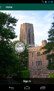 Concordia Seminary- screenshot thumbnail