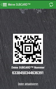 SUBWAY® SUBCARD™ Deutschland- screenshot thumbnail