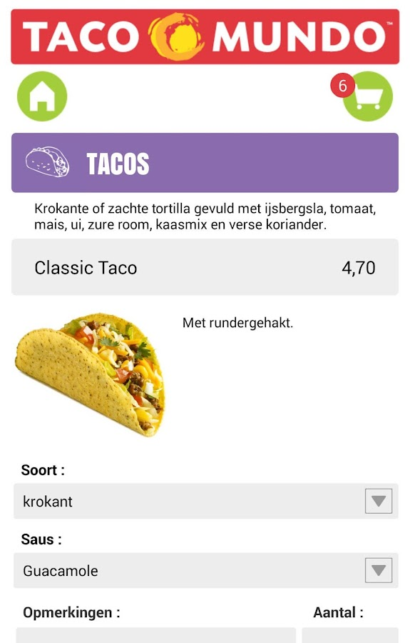 Taco Mundo- screenshot