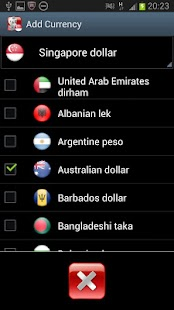 Singapore Currency Converter - screenshot thumbnail