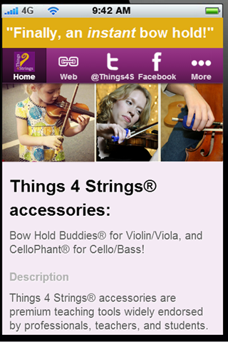 【免費音樂App】Things 4 Strings, LCC-APP點子