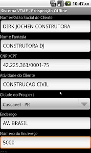 VTME - Prospecção Móvel - screenshot thumbnail
