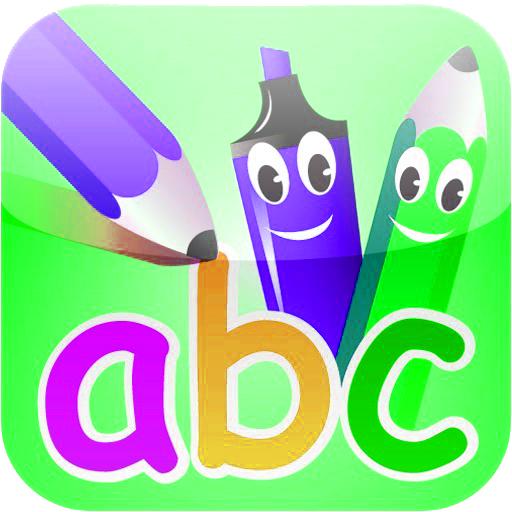 ABC Alphabets Finger Paint