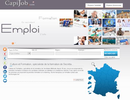 玩商業App|Capijobnew Emploi et Formation免費|APP試玩