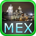 Mexico City Offline Map Guide icon