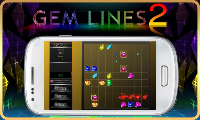 Gem Lines- screenshot