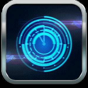Mystic Halo Clock