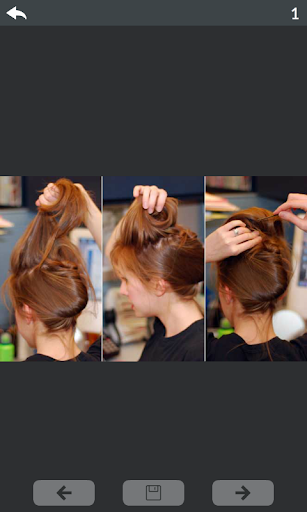 Hairstyle steps 4