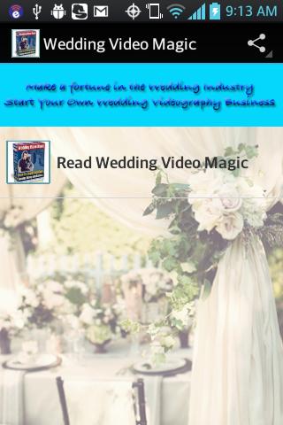 Make Money with Weddings