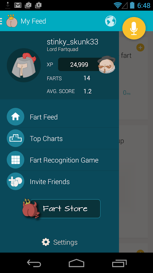 Fartners - Share Farts Sounds- screenshot