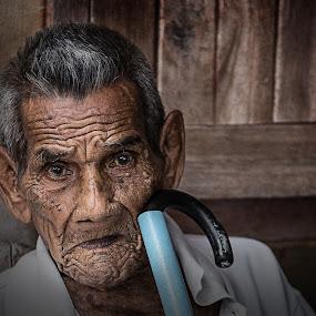Old Man by Abid Zack - People Portraits of Men
