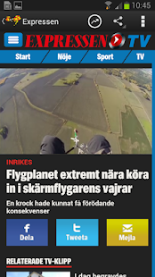 Expressen - screenshot thumbnail