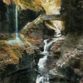 watkins glen by Scott Bennett - Painting All Painting