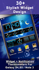 Weather Rise Clock 30+ Widgets screenshot 0