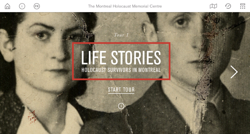 Montreal Holocaust Museum- screenshot