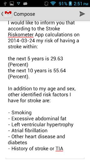 免費健康App|Stroke Riskometer Pro|阿達玩APP