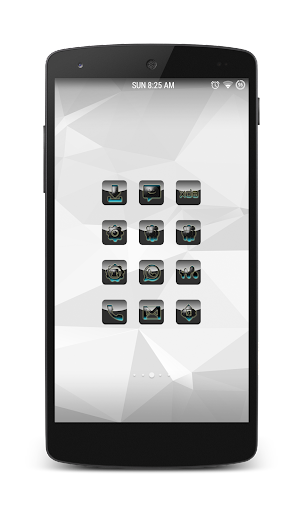 Shining Blue Icon Pack