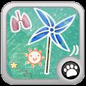 Blow windmill logo