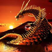Dragon of Mt. Fuji