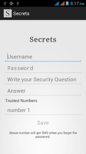 Secrets Free