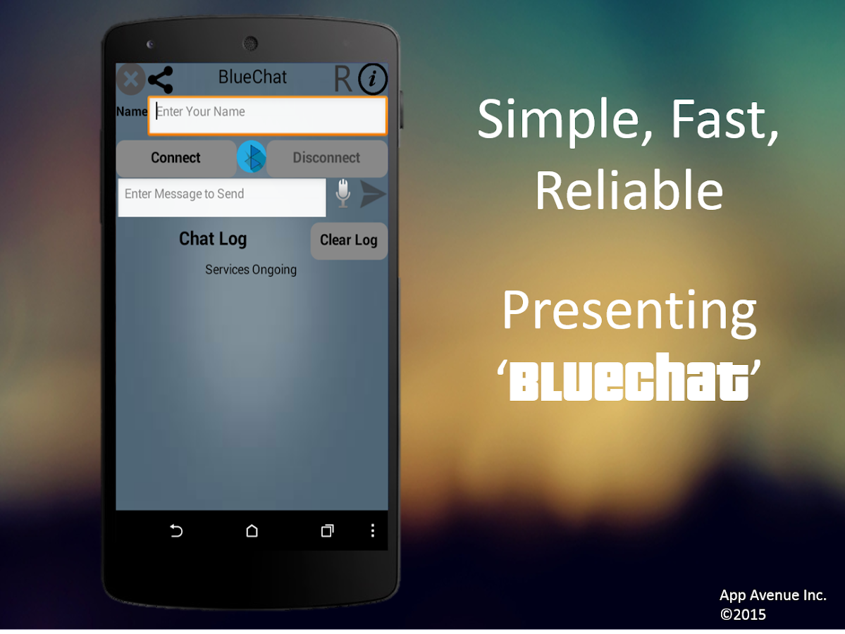 Bluetooth Messenger FREE- screenshot
