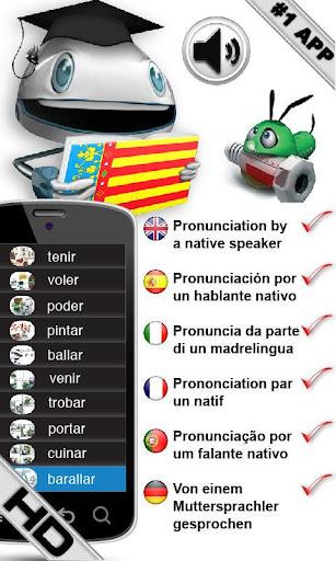 Valencian Verbs HD LearnBots