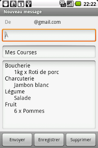 Mes Courses screenshot 5