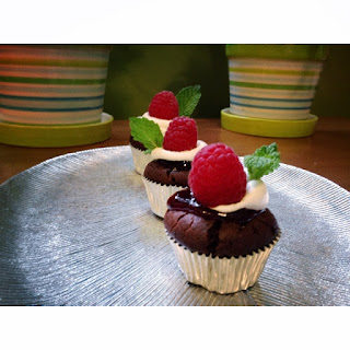 Flourless Chocolate Cupcakes