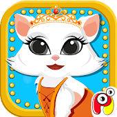 Cute Kitty Pet Dress Up Salon