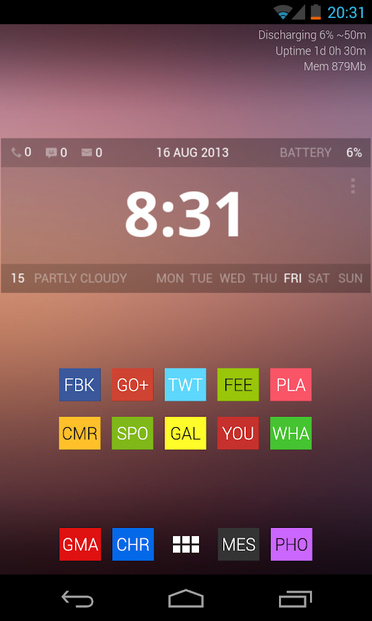Purento (adw apex nova icon)- screenshot