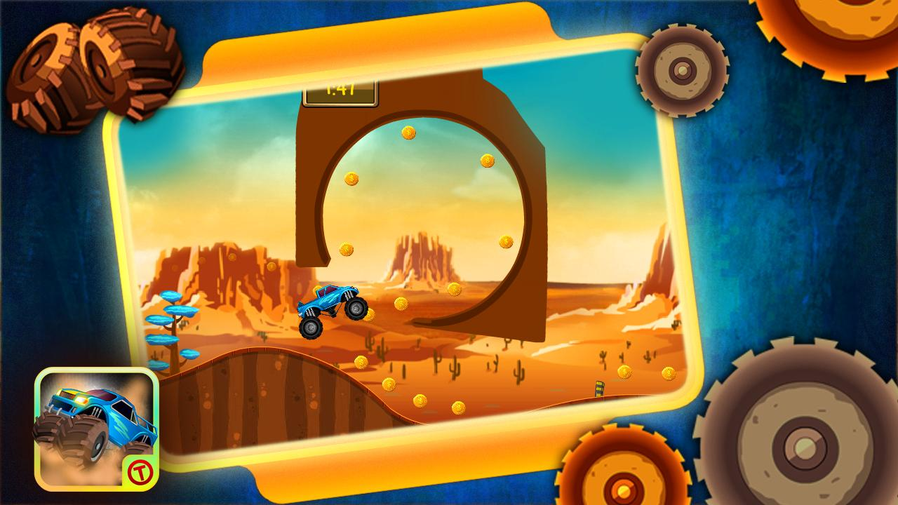 Monster Ride HD - Free Games - screenshot