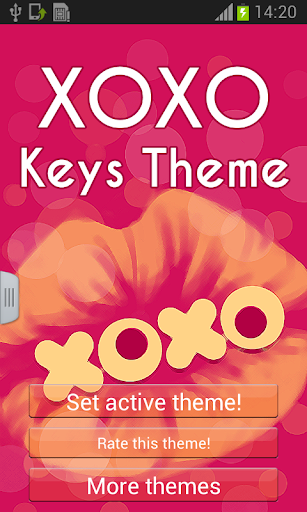 XOXO鍵主題