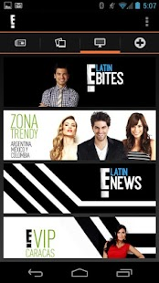 E! Latino - screenshot thumbnail