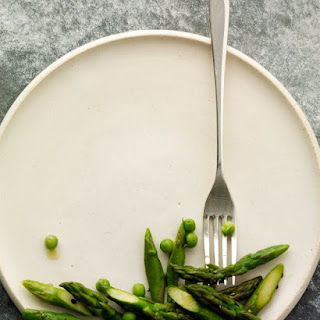 Sauteed Asparagus and Peas