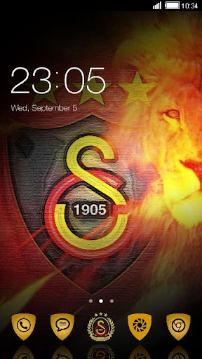 Galatasaray CLauncher Theme 2