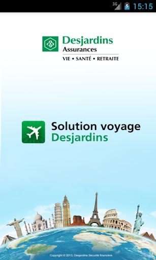 Solution voyage Desjardins