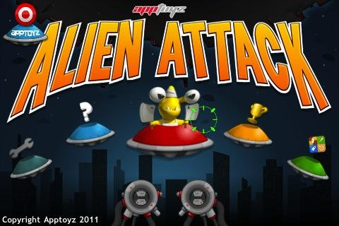 apptoyz Alien Attack- screenshot