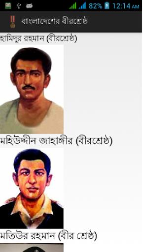 Bir Sreshtho of Bangladesh