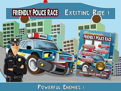 Friendly Police Race