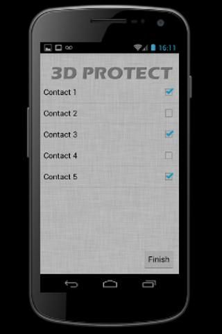 3D Protect Premium - screenshot