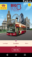 Screenshot of Big Bus Tours - City Guide