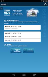 EPS Télésurveillance - screenshot thumbnail