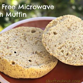 Grain Free Microwave English Muffin
