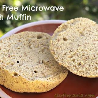 Grain Free Microwave English Muffin.