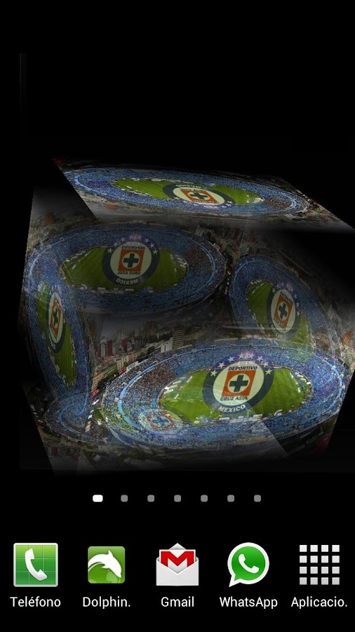 3D Cruz Azul Fondo Animado - screenshot