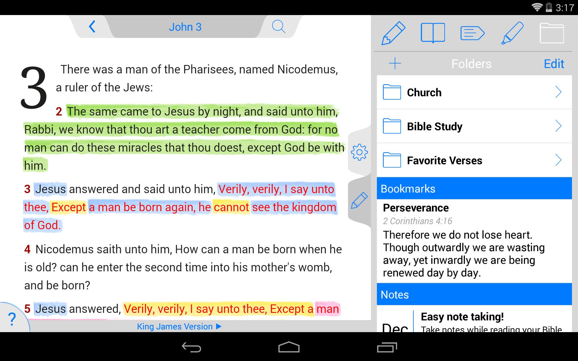 NKJV Bible screenshot #20