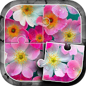 Flowers Puzzle Game